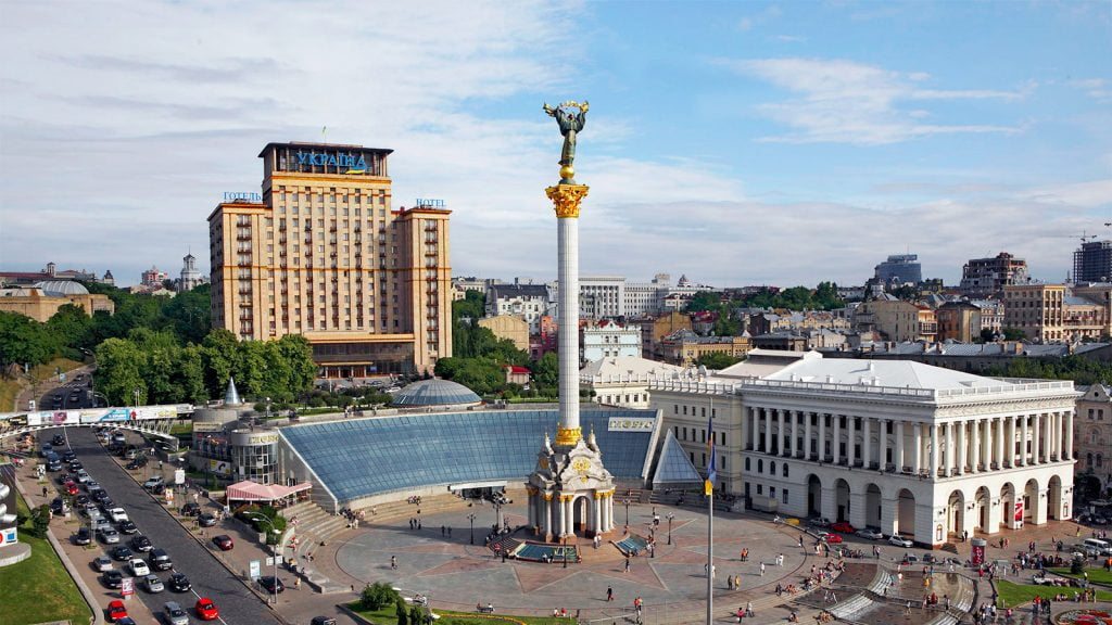 Автобус Мариуполь - Киев